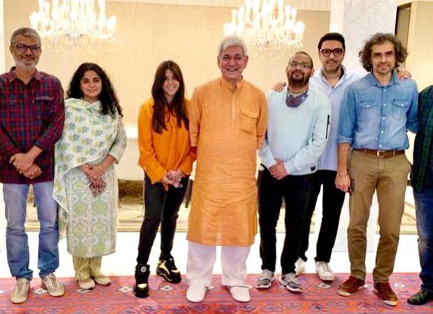 Ekta Kapoor, Dinesh Vijan, Imtiaz Ali, Nitesh Tiwari and others meet Governor of Jammu & Kashmir to discuss reviving film shoots in the state : Bollywood News
