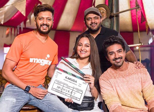RSVP announces horror-comedy Kakuda starring Riteish Deshmukh, Sonakshi Sinha, Saqib Saleem; film goes on floors today : Bollywood News