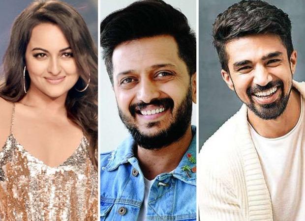 Sonakshi Sinha, Riteish Deshmukh, and Saqib Saleem's horror-comedy film to be titled Kakuda : Bollywood News
