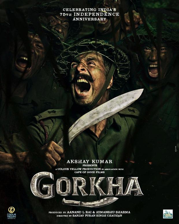 Akshay Kumar to play war hero Major General Ian Cardozo in Gorkha, first look unveiled : Bollywood News