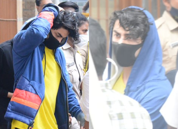 Shah Rukh Khan's son Aryan Khan leaves for medical examination after his arrestin drugs case, see photos : Bollywood News
